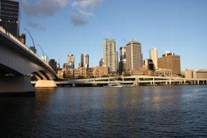 Brisbane Gray Sky Morning
