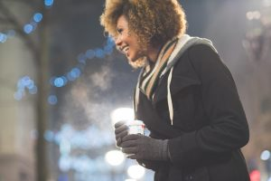 girl-cold-jacket-coffee-smiling