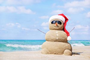 Christmas-sandman-beach-australia