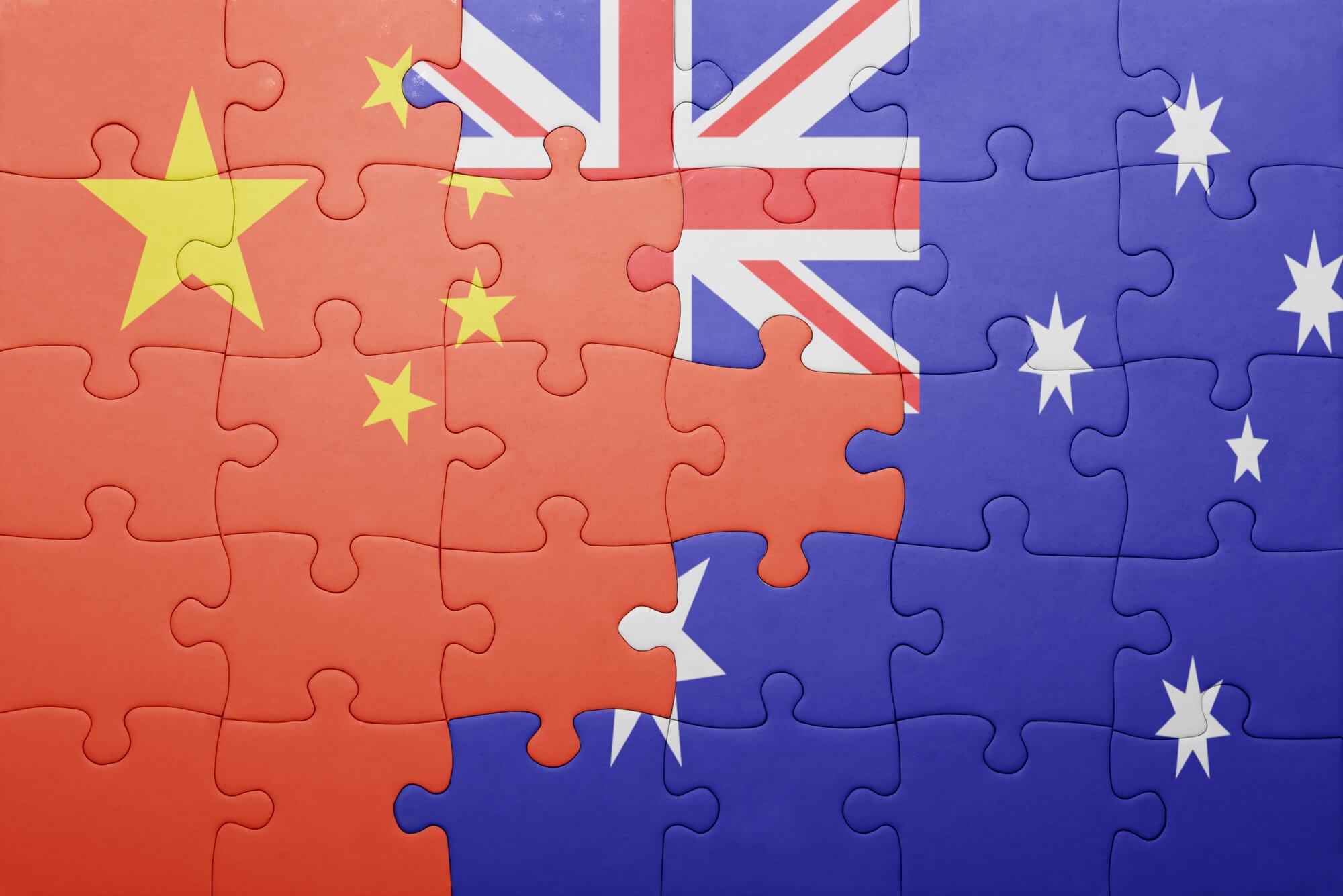 Kết quả hình ảnh cho china and australia